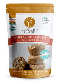Good Dees Carrot Muffin and Carrot Cake Mix - Low Carb