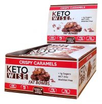 Keto Wise Crispy Caramel Fat Bombs